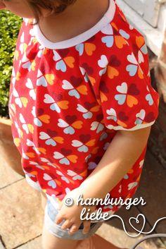 klaver rood inspiratie: t-shirt