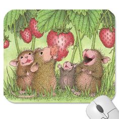 """""""Mouse Pad"""", Stock #: PAD-2016-6, from House-Mouse Designs®. This item was recently purchased off from our web site. Click on the image to see more information."""