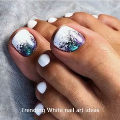 30 Toe Nail Art Designs to Keep Up With Trends # Pretty Toe Nails, Cute Toe Nails, My Nails, Pretty Toes, Pink Nails, Toe Nail Color, Toe Nail Art, Nail Colors, Summer Toe Nails