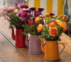 Teapot floral arrangement