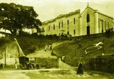 Igreja e Convento do Calvário em 1915