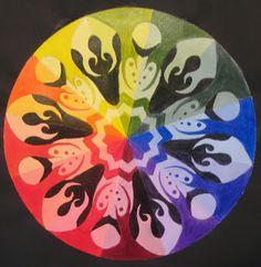 Adventures of Creativity.: Creative Color Wheels