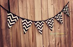 Chevron banner  Photo Prop or Decor for your by LiddieMae on Etsy, $20.00