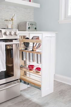 This modern kitchen