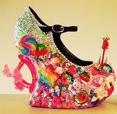 """For a shoe to be called Sugar and Spice it has to be something pretty sweat luckily this pair of pumps doesn't disappoint. It is the combination of everything nice. You've got glitters, rainbows, stars, teddy bears, rocking horses, gumball machines and all the little """"kawaii"""" things you can ever imagine. These custom shoes are […]"""
