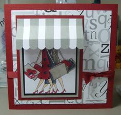 Awning Shopping by stampandshout - Cards and Paper Crafts at Splitcoaststampers
