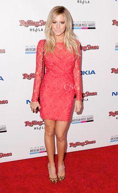 ashley tisdale wearing pink dress - Google Search