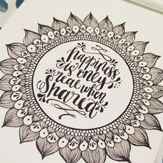 Loving this sunflower and quote design created by @csoulieredesign with their Chameleon Detail pen. #csoulieredesign #chameleonpens #detailpen #intothewild