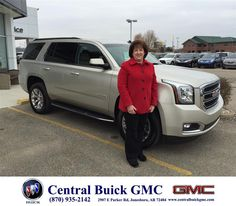 https://flic.kr/p/CmRymx   Happy Anniversary to June on your #GMC #Yukon from Brian Romine at Central Buick GMC!   deliverymaxx.com/DealerReviews.aspx?DealerCode=GHWO
