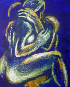 Acrylics Art Print featuring the painting Lovers - Night Of Passion 2 by Carmen Tyrrell Sexy Black Art, Black Love Art, Painting Edges, Acrylic Painting Canvas, Black Couple Art, Arte Latina, Black Art Pictures, Beautiful Pictures, Arte Pop