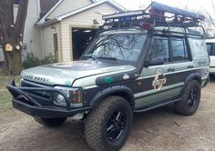 LAND ROVER DISCOVERY 1&2 ROCK SLIDER w/ TREE BAR... UNFINISHED..you paint | eBay
