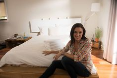 Beautiful guest bedroom tips from Laurie March >> http://blog.diynetwork.com/maderemade/2014/01/17/good-to-know-gussied-up-guest-rooms?soc=pinterest
