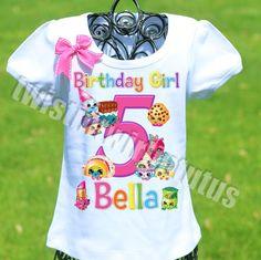 Shopkins Birthday Party Ideas | Rainbow Shopkins Birthday Shirts | Shopkins Birthday Outfit | Shopkins Family Shirts | Birthday Party Ideas for Girls | Twistin Twirlin Tutus #shopkinsbirthday  http://www.twistintwirlintutus.com/products/shopkins-birthday-shirt-1
