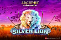 High payouts on the 1024 ways to #win African safari-themed, Silver Lion #casinoslots. Play at Jackpot Mobile Casino with £5 bonus