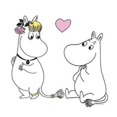 I want something like this on the right of my back, because 2 Moomin themed tattoos just isn't enough. Hah