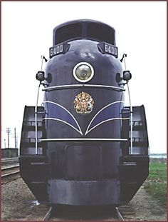 Canadian National painted CN6400 in a distinctive royal blue and gold livery for the 1939 royal tour. Royal insignia were applied to the nose, running board and tender.