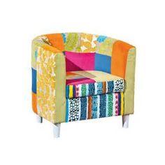 Suche Sessel patchwork design stoff polcadaz. Ansichten 144712.