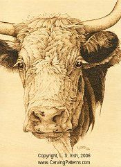 Wood Burning Animal Fur and Hair... cow pattern animal fur textures pyrography basics