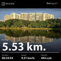 Pokemon Run . Recent activity! - 5.53 km Running #health #sport #runstagram  #runstagrammer  #run #running #runkeeper #runnerscommunity #runforabettertomorrow #sgrunners #instarunner  #worlderunners #run #nikerun #nikeplus #loverunning  #justrunlah #pokemonrun
