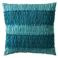 Aqua Pillow for Master bedroom