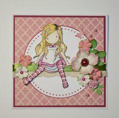 Jana Svobodová / Soutěž - krajka ve scrapbookingu Paper Lace, I Card, Cardmaking, Little Girls, Baby Kids, Babies, Children, Projects, Fabric