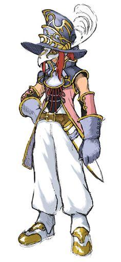 Zelos Wilder - Masked Swordsman Costume