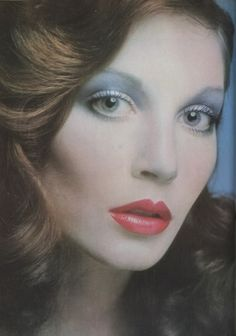 Seventies MakeUp - Photo by Richard Dunkley for Vogue UK, March 1972.