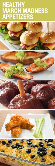 Great appetizers for your March Madness party!