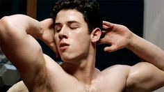 The Shirtless Nick Jonas Scream Queens GIFs You Need  #refinery29  http://www.refinery29.com/2015/09/94479/nick-jonas-scream-queens-shirtless-gifs