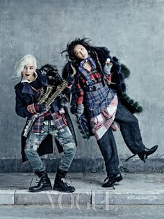 Big Bang G-Dragon and Kim Sung Hee - Vogue Magazine August Issue '13