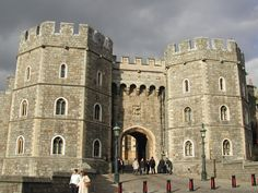 Windsor Castle in Windsor, England. I took this pic while I was there.