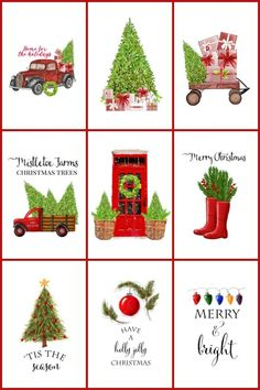 christmas printables How to have the best Christmas ever! Featuring a huge collection of decor, crafts, recipes, gift giving, wreaths and more. Best Christmas Gifts, Christmas Projects, All Things Christmas, Holiday Crafts, Vintage Christmas, Christmas Holidays, Christmas Recipes, Xmas, Christmas Traditions