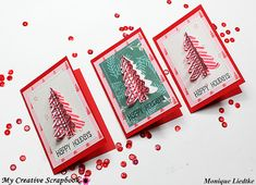 creating {non}sense: My Creative Scrapbook Step-By-Step Christmas Cards