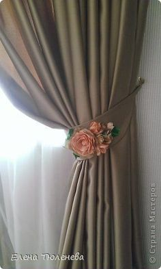 1 million+ Stunning Free Images to Use Anywhere Curtain Holder, Curtain Tie Backs, Rideaux Shabby Chic, Rideaux Design, Diy Home Decor, Room Decor, Home Curtains, Curtain Designs, Diy Interior