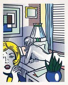 New Focus On | Puccio Fine Art | Roy Lichtenstein - Roommates, From Nude Series
