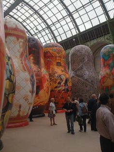 Blog - GreatRussianGifts.com / Wow ... this must be a museum of nesting dolls!  I'd love to see it!  (: