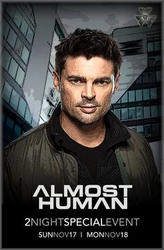 New 2 Night Event Poster for Almost Human featuring Kennex.