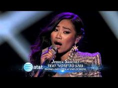 Jessica Sanchez: Stuttering - Top 7 - AMERICAN IDOL SEASON 11... like just amazing