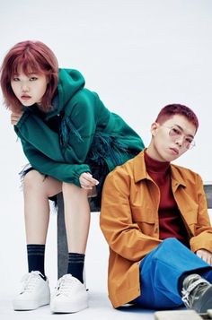 Akdong Musician talk beauty and fashion in 'Dazed and Confused' Lee Soo Hyun, Yg Artist, Yg Entertaiment, Akdong Musician, Fun Family Photos, Star Magazine, Cool Poses, K Pop Star, Korean Fashion Trends