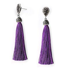 Perfekt!! Schmuck, Damen, Ohrringe Drop Earrings, Jewelry, Fashion, Lilac, Stainless Steel Earrings, Jewelry Gifts, Gifts For Women, Vintage Jewellery, Fringes