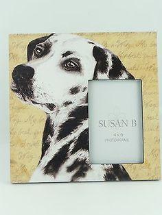 "Dalmatian Picture frame wood Pet Photo Decor 10""x10"" holds 4""x6"" photo  NIB   http://www.ebay.com/cln/10x10/Pet-Picture-Frames/128394337014"