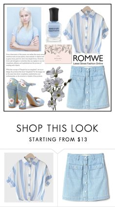 """""""Romwe"""" by lampice ❤ liked on Polyvore featuring Gap"""