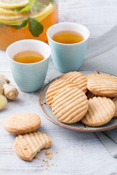 Biscotti allo zenzero Croccanti e profumati. Pronti per una colazione diversa dal solito?  Ginger cookies