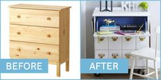 Clever diy ikea hacks on a budget 25 Ikea Hacks, Ikea Furniture Hacks, Furniture Making, Furniture Makeover, Hacks Diy, Furniture Ideas, Ikea Makeover, Simple Furniture, Inexpensive Furniture
