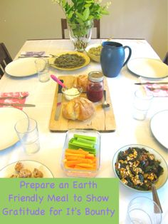 How to Create a Meal for Earth Day