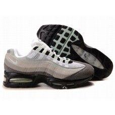 more photos b6186 3c37a Hommes Nike Air Max 95 Blanc Gris Noir Air Max 95 Grey, Air