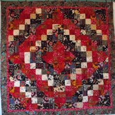 Glory of the West Lap Quilt by patchworkflamingo for $220.00 #zibbet  #rustic