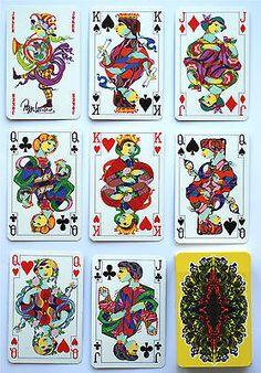 1970s-BJORN-WIINBLAD-p-cards-Piatnik-Iconic-art-from-this-Danish-master