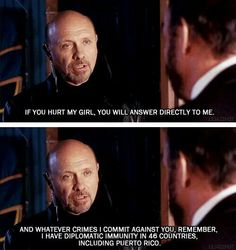 Princess Diaries - Don't mess with Joe. Love Joe!