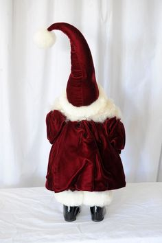 Apple Whimsey Santa Baby (back view)